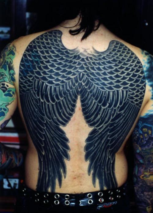 ailes d'ange noir