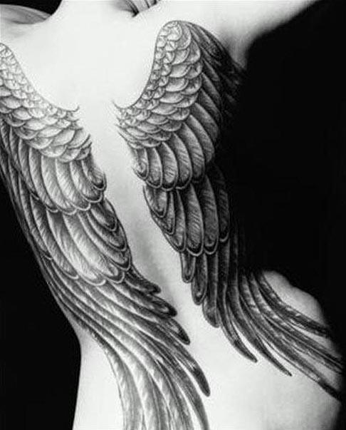 ailes d'ange tatouage