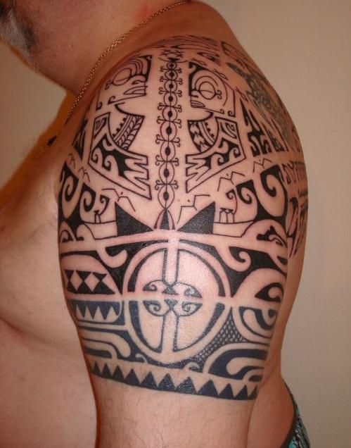Pin tatouage plume mandala more mandalas on pinterest - Tatouage femme polynesien ...