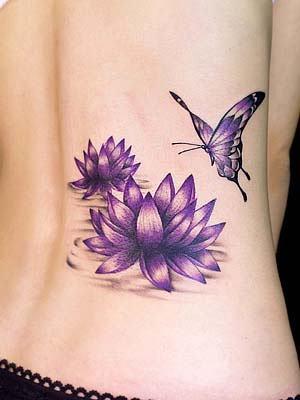 lotus fleur tatoo