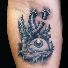 oeil tattoo
