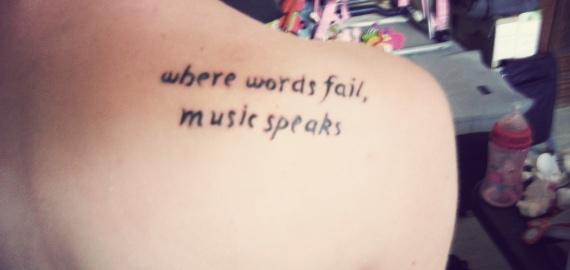 phrase anglais tatouage