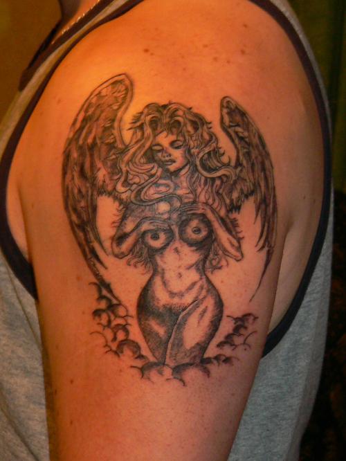 Tatouage Ange Femme Tatouage Ange Sur Modele2tatouage Com