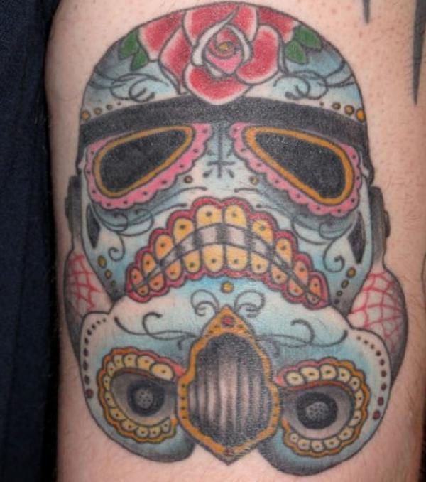 tatouage calavera