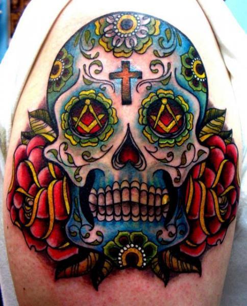 tatouage crane mexicain tatouage crane mexicain sur. Black Bedroom Furniture Sets. Home Design Ideas