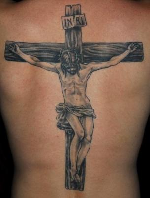 Tatouage Croix Avec Jesus Tatouage Croix Sur