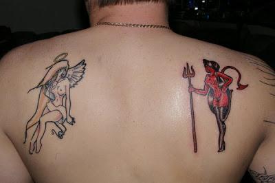 Tatouage Demon Ange Tatouage Ange Sur Modele2tatouage Com