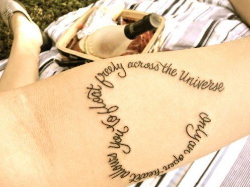 Tatouage En Forme De Coeur Tatouage Phrase Sur Modele2tatouage Com