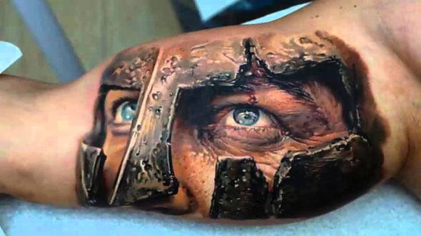 tatouage regard