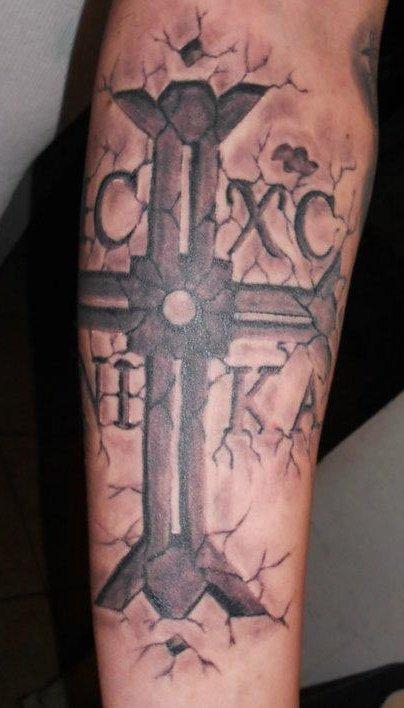 tatouer une croix sur l avant bras tatouage croix sur. Black Bedroom Furniture Sets. Home Design Ideas