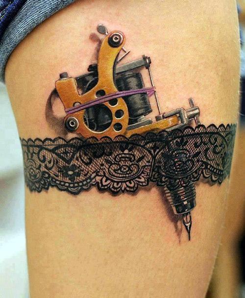tattoo jarretiere