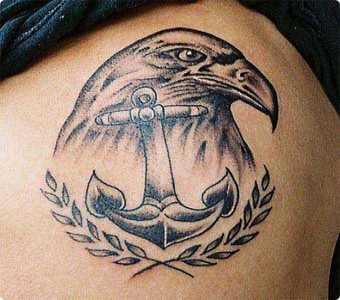 tete d'aigle tatouage
