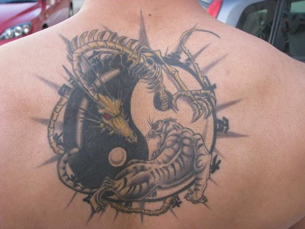 Tatouage Tigre Et Dragon Yin Yang Tatouage Ying Yang Sur