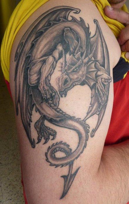 Un dragon sur ton muscle
